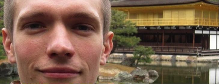 Jonathan Rigottier, méditant heureux