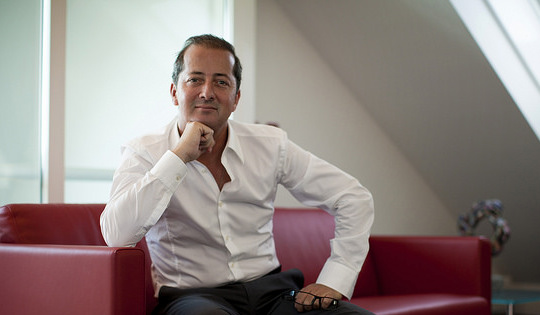 Patrick Delarive, entrepreneur «au cœur» des affaires